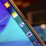 サムスン5.6インチのファブレットGALAXY Note Edge 実機動画、ファーストレビュー