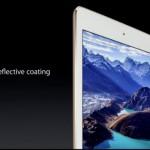 Apple 薄さ6.1mmの新型 iPad Air 2 を発表、WiFi版は重さ437g、値段は$499 から
