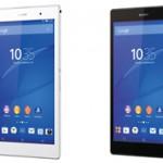8インチタブレット Xperia Z3 Tablet Compact wifiモデル 11月7日に発売、値段は44000円から