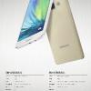 サムスン Galaxy A7 のカタログ、スペックがリーク 5.5インチのスマートフォン