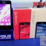 Asus 4.5インチの「 ZenFone C (ZC451CG)」を発表 価格は約12000円