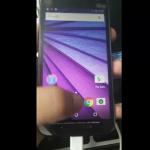 Motorola Moto G (3nd Gen.)と思われる機種の画像とスペックがリーク