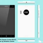 Microsoft 「Lumia 950 (Talkman) 」と「Lumia 950 XL  (Cityman) 」のスペックリーク