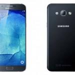 サムスン 5.7インチのphablet 「 Samsung Galaxy A8 」発表