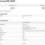 エントリークラス「Samsung Galaxy J2 」の情報リーク、4.7インチディスプレイ搭載
