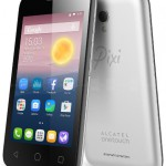 ALCATEL ONETOUHCH Pixi First 発表、4インチ小型のエントリースマートフォン