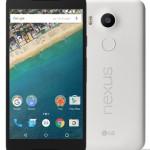 NTTドコモ 「 Google Nexus 5X 」を10月22日発売、先着でGoogle Playクーポン(5,000円分)のキャンペーンも