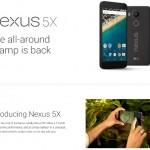 Google Nexus 5X のスペック詳細リーク、Snapdragon808、2GB、予想価格は379ドルから