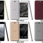 HTC One A9 (HTC Aero)のボディ色は6色展開、Snapdragon617搭載のミドルスペック機