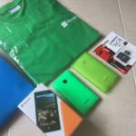 Lumia 435 Dual SIM を今更 購入。値段は、おまけが付いて4200円でした