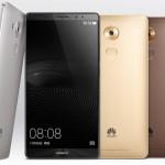 Huawei 6インチのファブレット「 Huawei Mate 8 」発表、Kirin950、指紋認証搭載 【phablet】