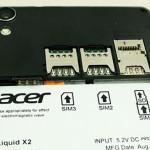 Acer トリプルSIMの「 Acer Liquid X2 」をタイで発売、価格は約34000円