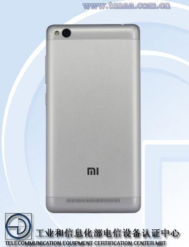 Xiaomi-Redmi3- TENAA-2