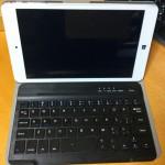 Chuwi Hi8 Pro 専用Bluetoothキーボード・ケース レビュー  8インチのWindowsタブレット