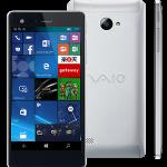 楽天モバイル「VAIO Phone Biz」の予約開始、SIMフリーのWinスマホ【格安SIM】