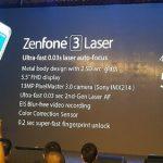 ZenFone3 Laser 発表、レーザーオートフォーカス搭載のスマートフォン