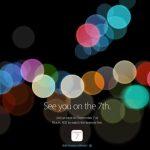 アップル、日本時間の9月8日午前2時よりイベント開催、iPhone7・iPhone7 Plus発表