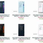 エクスパンシスでXperia XZ、Xperia X Compactの仮注文受付中、価格は74900円と53900円