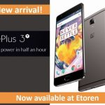 Etoren(イートレン)でSD821・RAM6GB搭載の OnePlus 3T 販売開始、62,448円