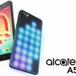 Alcatel A5 LED 発表、背面のLEDカバーが派手に点灯するスマートフォン