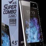 タイAIS、LAVA iris 702 発売、4.5型ディスプレイの3Gエントリースマートフォン