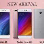 Etoren(イートレン)でXiaomi Redmi 4A・Note 4X・Mi 5Sの販売開始