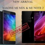 EtorenでXiaomi Mi MIX、Xiaomi Mi Note2の販売開始、価格は86,174円と69,846円