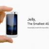 2.45インチでLTE対応のスマホ「Jelly」、Kickstarterに登場、価格59ドルから、日本でも販売