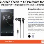 ヨーロッパのSony Storeで「Xperia XZ Premium」の予約受付開始、価格約9.5万円、6月初旬発売