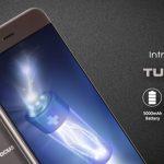 InFocus Turbo 5 発表、5000mAhの大容量バッテリー搭載、価格は約1.3万円