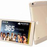 Micromax Canvas Plex Tab 発表、4G VoLTE対応の8インチタブレット