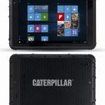 Caterpillar T20 Rugged Tablet 海外で発売、防水対応で堅牢な8型Windowsタブレット