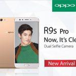 OPPO R9s Pro 発表、6型ディスプレイ、前面にデュアルカメラ搭載のミッドレンジクラスのファブレット
