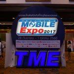 スマホ最新機種が多数展示される「Thailand Mobile Expo 2017」