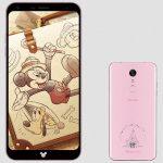 NTTドコモ、ディズニースマホ「DM-01K」発表、5.5型の縦長スマートフォン