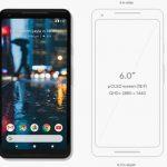 Google Pixel 2 XL 発表、6インチ縦長ディスプレイのファブレット、SD835・RAM4GB搭載、価格約9.6万円