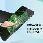 HUAWEI Y6 Pro 2017 発売、指紋認証センサー搭載の5型HDスマートフォン