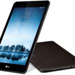 LG G Pad F2 8.0 アメリカで発売、通話可能な8インチタブレット