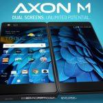 ZTE Axon M 発表、折り畳み式デュアルスクリーン、SD821・RAM4GB搭載