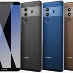 画像リーク、Huawei Mate 10 Proとされる機種で特徴的なカラーリング