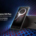 4000mAhバッテリー・デュアルカメラ搭載のLenovo K8 Plus タイで発売、価格は約2.8万円