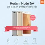 タイで Xiaomi Redmi Note 5A 発売、Snapdragon425搭載のエントリースマートフォン