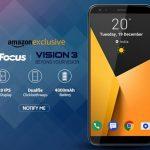 InFocus Vision 3 発表、5.7インチ縦長ディスプレイ・4000mAhバッテリー搭載、価格は約1.3万円