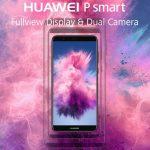 HUAWEI P smart 発表、Kirin659・5.65インチFHD+ ディスプレイのスマートフォン
