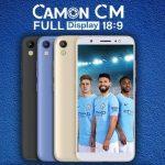 TECNO Camon CM 発表、5.65インチ18:9ディスプレイのスマートフォン