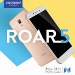 Coolpad Roar 5 発売、5インチHD・SD210搭載のエントリースマートフォン