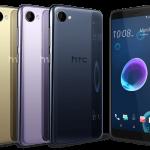 HTC Desire 12 発表、5.5インチ縦長・MediaTek MT6739搭載のエントリースマートフォン