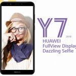 エントリー機「HUAWEI Y7 2018」発表、Snapdragon430搭載の5.99インチスマートフォン