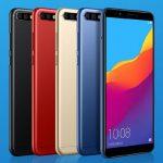 Huawei、honor 7C 発表、Snapdragon450・5.99インチ・デュアルカメラ搭載、価格は約1.6万円から