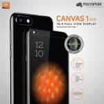 5.7インチ縦長ディスプレイの「Micromax Canvas 1 2018」発売、Face Unlock搭載、価格は約1.2万円